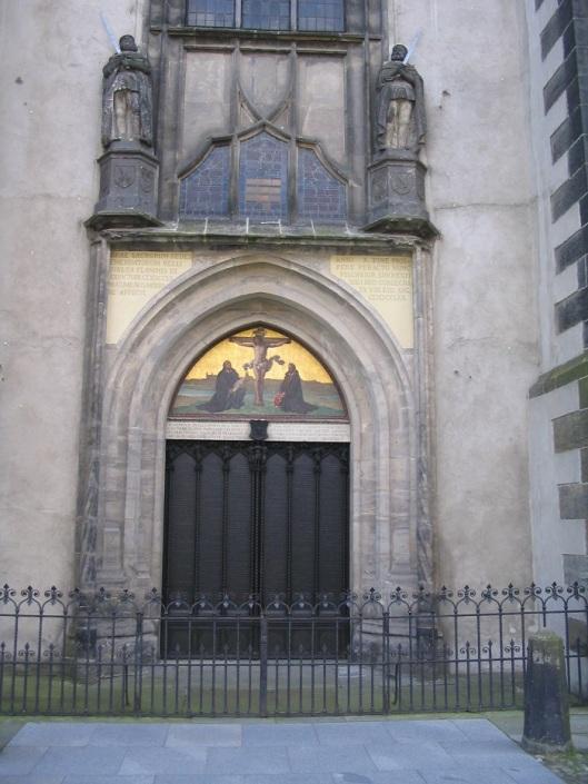 21-1-13 Wittemberg chiesa ognissanti