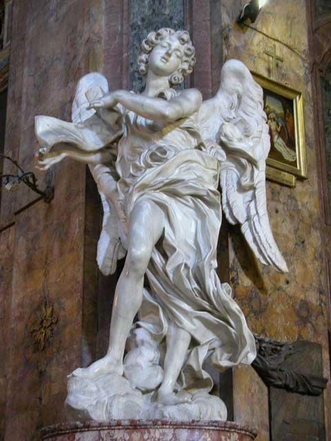 Statue Intorno Alle Fontane Oscure Villa Borghese