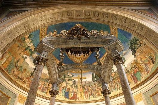 'Storia della Vera Croce' di Antoniazzo Romano