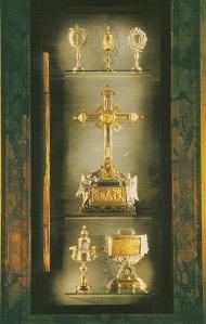 Cappella reliquie