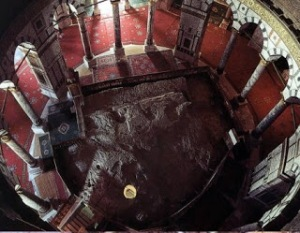interno cupola della roccia
