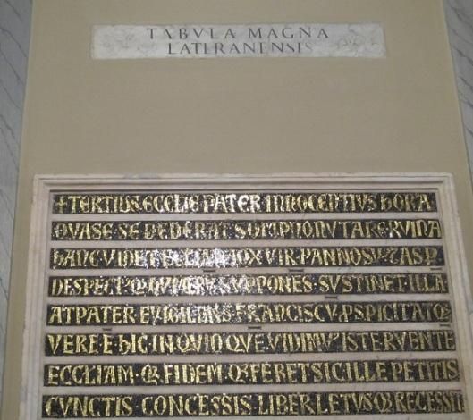 Tabula magna falsa
