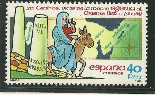 Francobollo viaggio Egeria