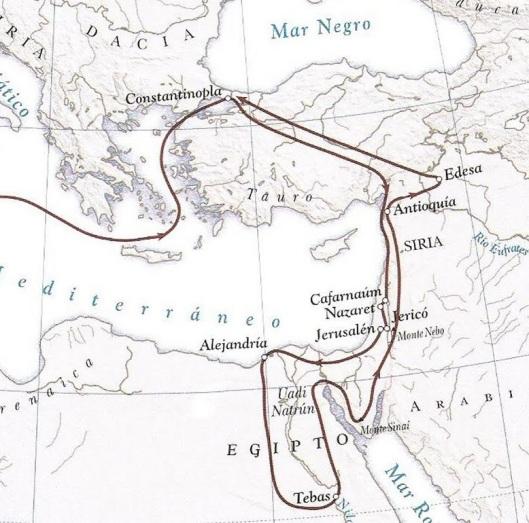 Viaggio Egeria