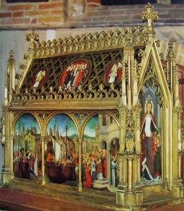 Memling - Reliquiario di Sant'Orsola medioante