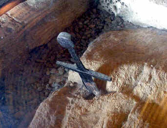 spada nella roccia