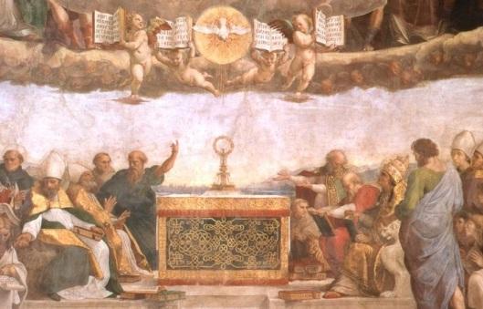 disputa santo sacramento