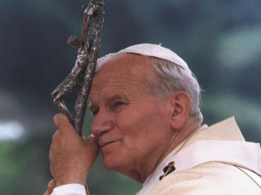 Le reliquie di Giovanni Paolo II