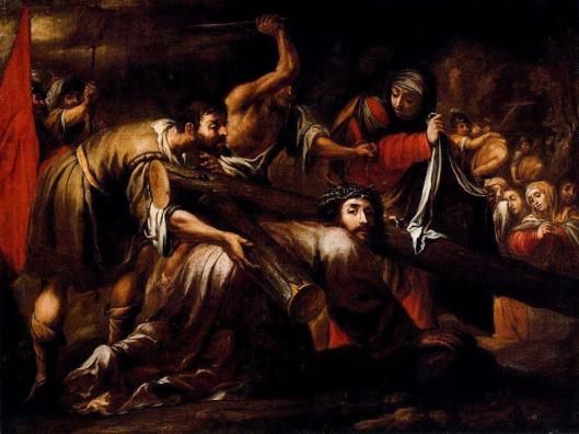 Juan-de-Valdes-Leal-Cristo-camino-del-calvario-y-la-Ver-nica