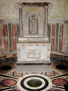 Tempietto Bramante interno