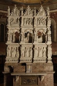 Arca e tomba di Sant'Agostino - Pavia, San Pietro in ciel d'oro