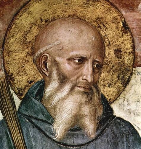 Beato Angelico. San Benedetto da Norcia