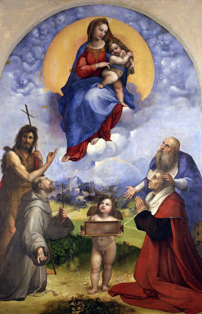 Raffaello - Madonna di Foligno - Musei Vaticani