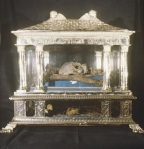 Juvigny - Reliquie di Santa Scolastica