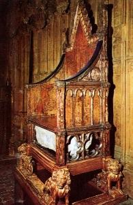 trono incoronazione