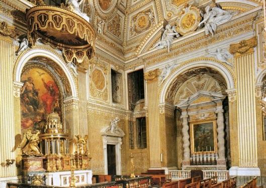 Cappella del Santissimo Sacramento. San Pietro in Vaticano