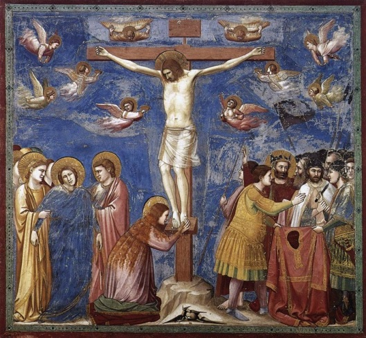 Giotto (sec. XIV). Crocifissione. Cappella degli Scrovegni, Padova.
