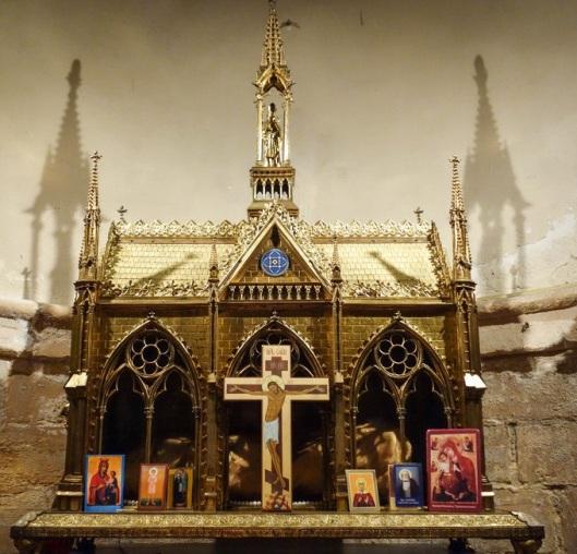 Reliquiario e reliquie di Sant'Elena. Chiesa di Saint-Leu-Saint Gilles, Parigi