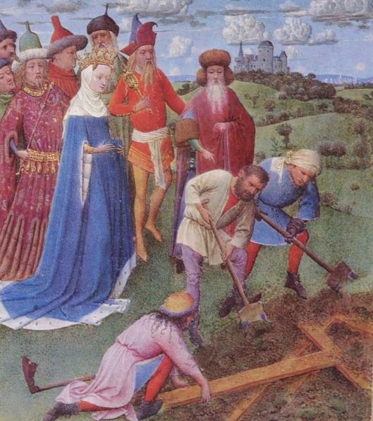Il ritrovamento delle Vera Croce. Jan van Eyck, sec. XV