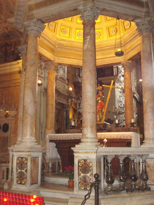 Tempietto di Sant'Elena. Basilica S. Maria in Aracoeli, Roma