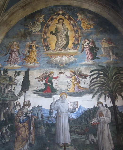 Fra Bernardino da Siena Pinturicchio. Ara Coeli
