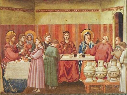 Giotto nozze di cana scrovegni