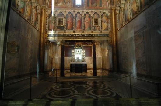 Cappella di San Lorenzo in Palatio (Sancta_Sanctorum)