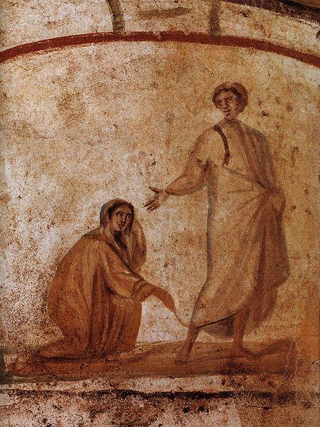 emorroissa cat Marcellino e Pietro