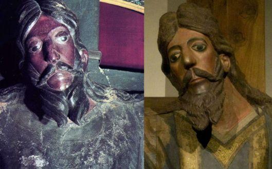 Las santas imágenes aquerópitas (5): Los Santos Rostros de Lucca y de Sansepolcro